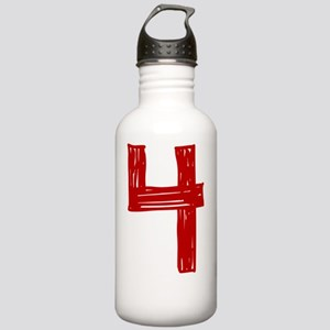 4red Stainless Water Bottle 1.0L