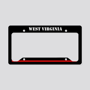 West Virginia Fire And Rescue License Plate Holder