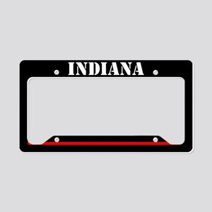 India Fire And Rescue License Plate Holder