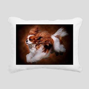 RosieRunning Rectangular Canvas Pillow