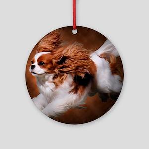 RosieRunning Round Ornament