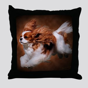 RosieRunning Throw Pillow