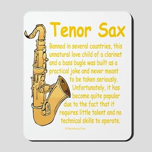 Tenor Sax Mousepad