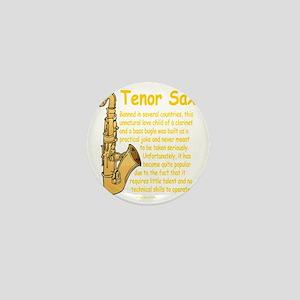 Tenor Sax Mini Button