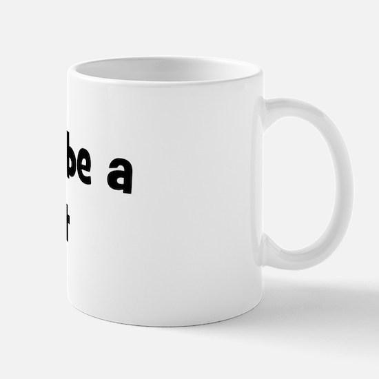 Rather be a Polecat Mug