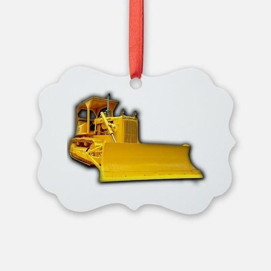 Bulldozer Ornament