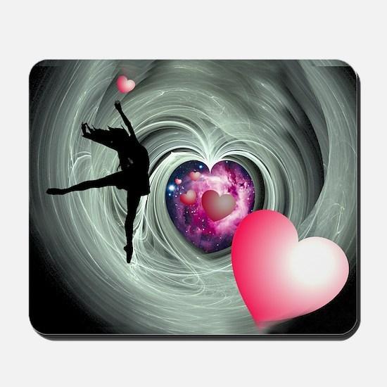 I Love To Dance! Mousepad