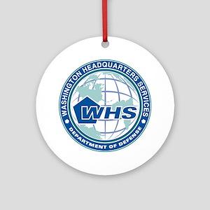 WHS Insignia Round Ornament