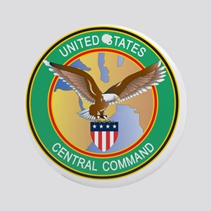 USCENTCOM Seal Round Ornament