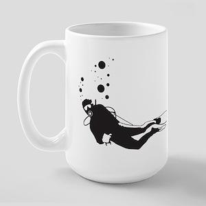 Scuba Diving Large Mug