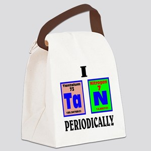 I tan periodically. Canvas Lunch Bag