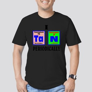 I tan periodically. Men's Fitted T-Shirt (dark)