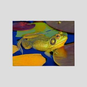 Gettin the Bullfrog Eye 5'x7'Area Rug