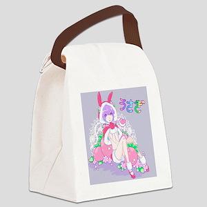 Bunny girl Canvas Lunch Bag