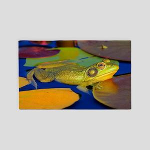 Gettin the Bullfrog Eye 3'x5' Area Rug
