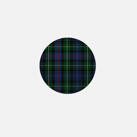 MacKenzie Tartan Shower Curtain Mini Button