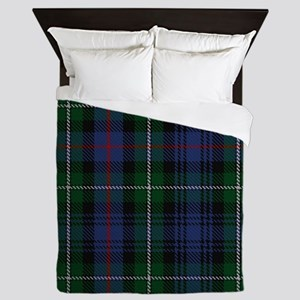 MacKenzie Tartan Shower Curtain Queen Duvet