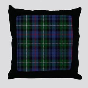 MacKenzie Tartan Shower Curtain Throw Pillow