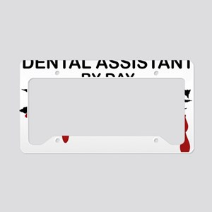 Dental Asst Zombie License Plate Holder