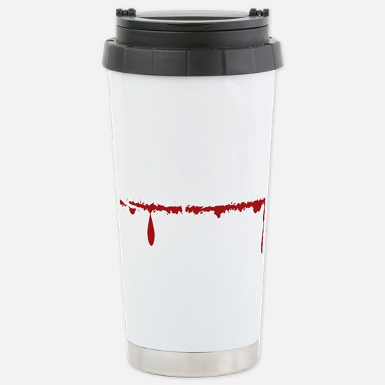 Daycare Zombie Stainless Steel Travel Mug