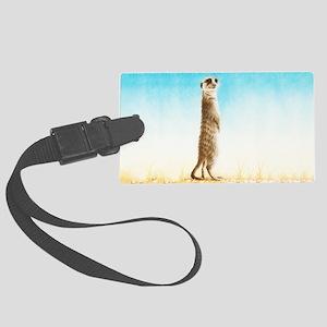 Meerkat Shoulder Bag Large Luggage Tag