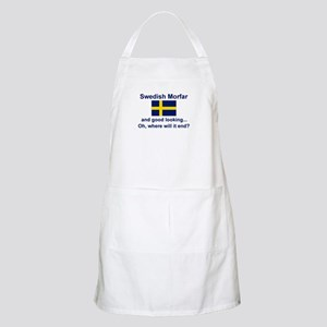Good Lkg Swedish Morfar BBQ Apron
