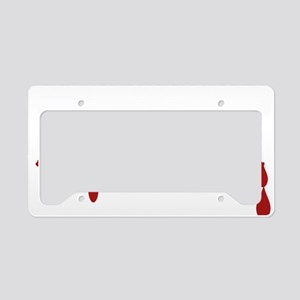 Court Reporter Zombie License Plate Holder
