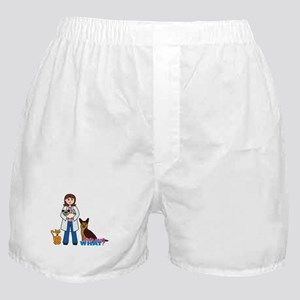 Woman Veterinarian Boxer Shorts