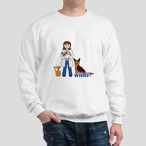 Woman Veterinarian Sweatshirt