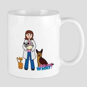 Woman Veterinarian Mug