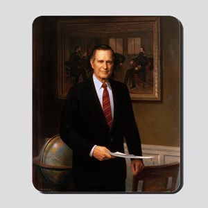 41 George H. W. Bush Mousepad