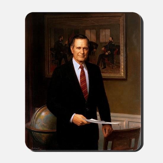 41 George H. W. Bush Mousepad