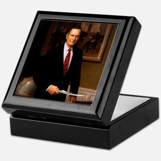 41 George H. W. Bush Keepsake Box