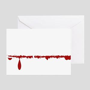 Dog Groomer Zombie Greeting Card