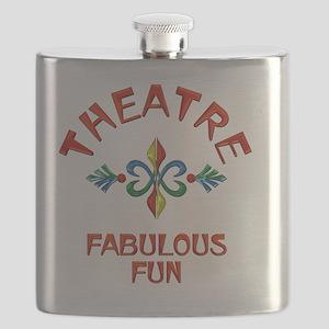 Theatre Fabulous Fun Flask