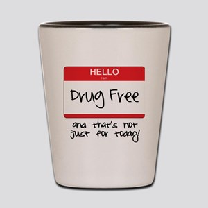 Drug Free Shot Glass