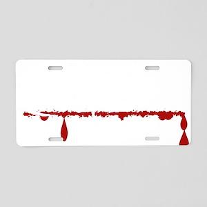 Editor Zombie Aluminum License Plate