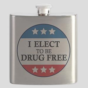 Drug Free Pin Flask
