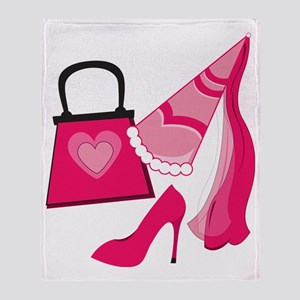 Princess Diva Throw Blanket