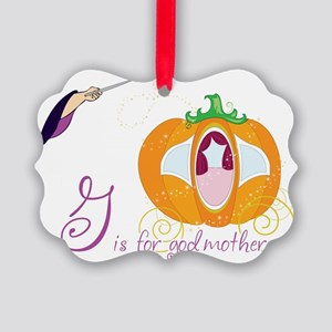 Fairy Godmother Picture Ornament