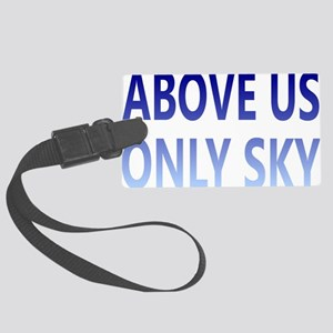 onlyskyrectangle Large Luggage Tag