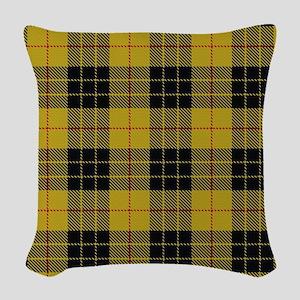 McCleod Tartan Plaid Woven Throw Pillow