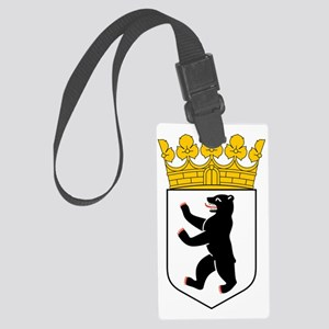 Berlin Coat of Arms Large Luggage Tag