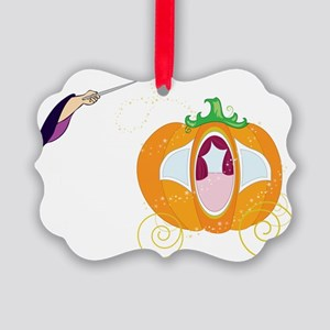 Princess Carriage Picture Ornament