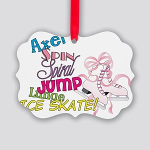 Ice Skating Picture Ornament