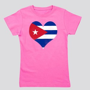 El Corazón de Cuba Girl's Tee