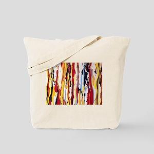 November Falling Paint 1 Tote Bag