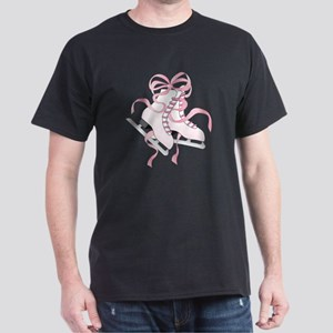 Pink Skates Dark T-Shirt