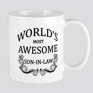 World's Most Awesome Son-In-Law Mug