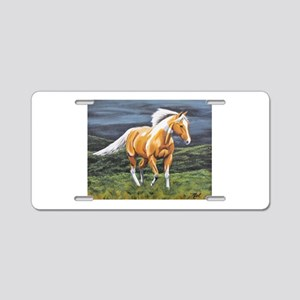 Approaching Storm Aluminum License Plate